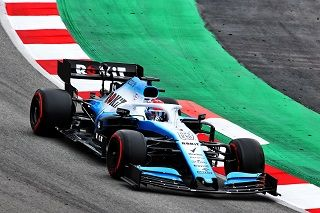 Williams lance la FW42 en piste à Barcelone