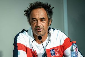 Coupe Davis France/Espagne:  l'interview cash de Yannick Noah