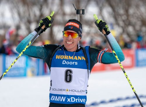 Sports d'hiver - Biathlon:  Fillon-Maillet remporte la poursuite de Soldier Hollow