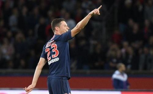Ligue 1:  Julian Draxler, un but et des premiers sourires face à Saint-Etienne (4-0)