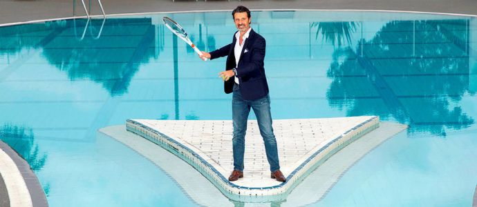Tennis - Patrick Mouratoglou, service gagnant