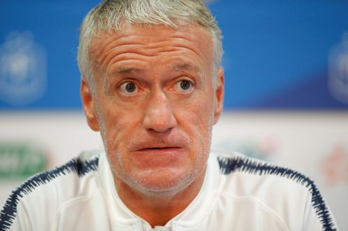 Football - Equipe de France - Deschamps: «Mbappé n'a pas la grosse tête»