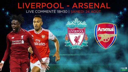 L'enthousiaste Arsenal au révélateur Liverpool