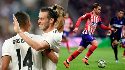 Football - Etranger - Super Coupe d'Europe:  le duel Bale/Griezmann en vidéo