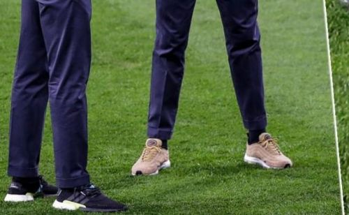 WTF:  Cristiano Ronaldo porte des baskets incrustées de diamants