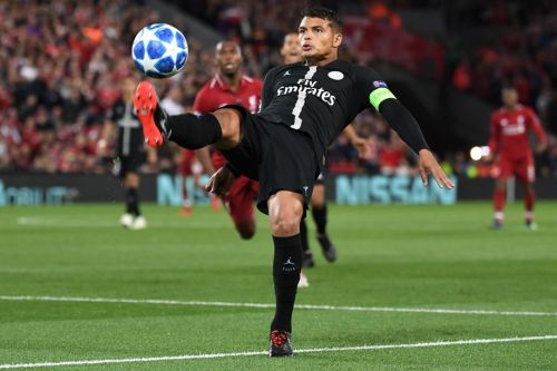 Football - Ligue des champions - Thiago Silva:  «Je crois qu'on a fait un bon match»