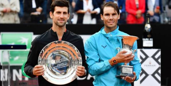 Tennis - Rome - Novak Djokovic:  «Nadal, le favori n°1 à Paris»