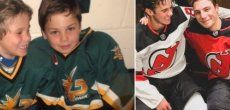 Hockey sur glace: La même photo, 14 ans plus tard