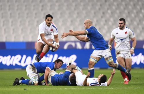 Rugby - XV de France - XV de France:  Moefana, l'ascension express
