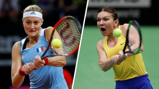 Tennis - Fed Cup - Fed Cup:  Mladenovic-Halep en direct