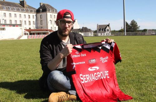 Ligue 1:  ce supporter qui a dessiné le maillot de Guingamp