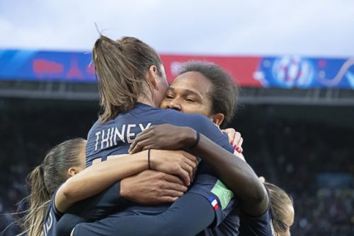 Bleues - Gaëtane THINEY:  « C'était un moment extraordinaire »