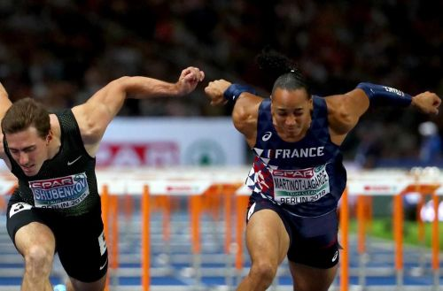 Athlétisme:  Martinot-Lagarde champion d'Europe du 110 m haies