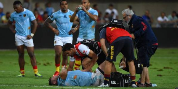 Rugby - Top 14 - USAP - Top 14:  Alex Brown absent au moins six mois