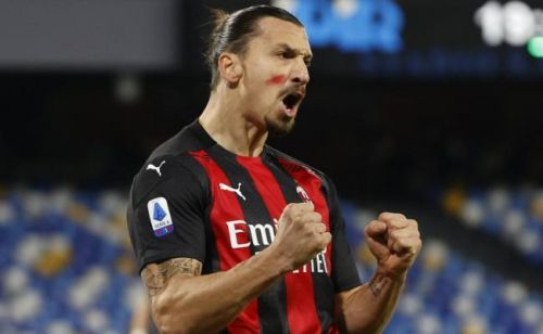 Serie A : revivez le premier but de Zlatan Ibrahimovic face à Naples