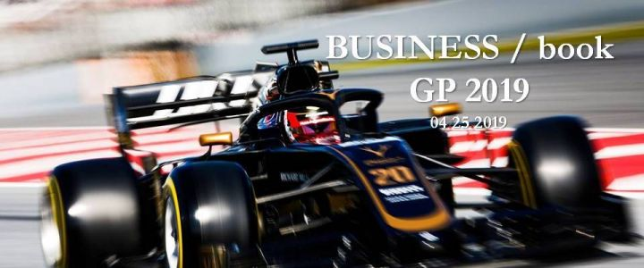 Le BUSINESS / book GP 2019 est disponible !