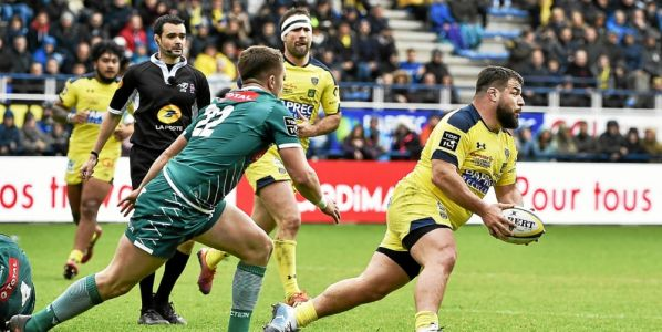 Top 14. Clermont souffre mais assure l'essentiel face à Pau