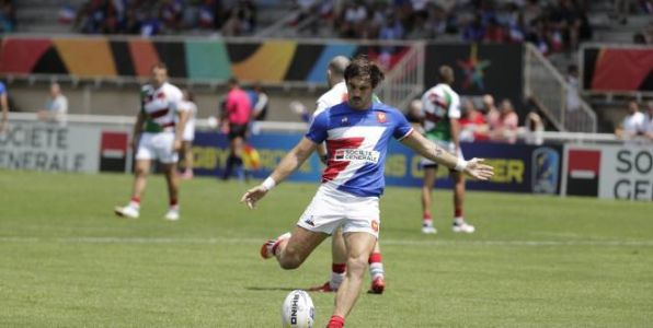 Rugby à 7 - TQO - Rugby à 7:  la France en demi-finales du tournoi de qualification olympique