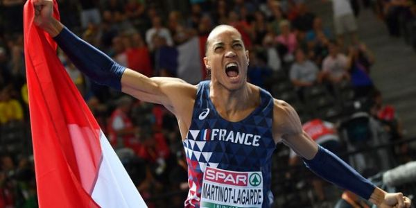 Athlétisme : Pascal Martinot-Lagarde champion d'Europe du 110 m haies