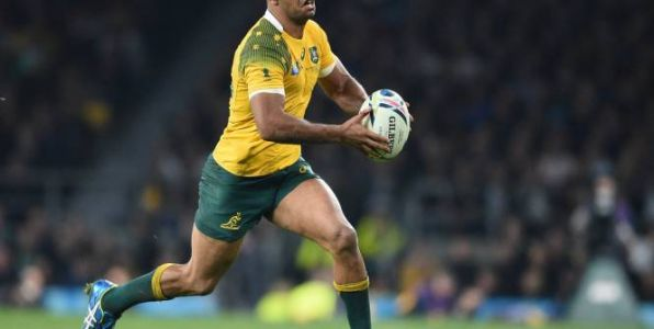 Rugby - Four Nations - AUS - Rugby Championship:  Kurtley Beale à l'ouverture face à l'Afrique du Sud