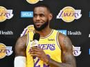 NBA: un nouveau défi immense pour LeBron James aux Los Angeles Lakers