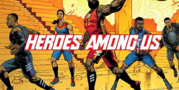 Basket - NBA - James Harden transformé en Iron Man par Marvel et Adidas