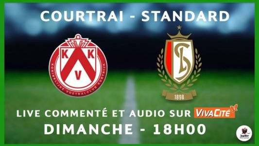 Suivez Courtrai-Standard en direct