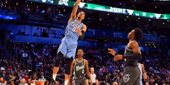 Basket - NBA - All Star Game:  Jayson Tatum remporte le Skills Challenge