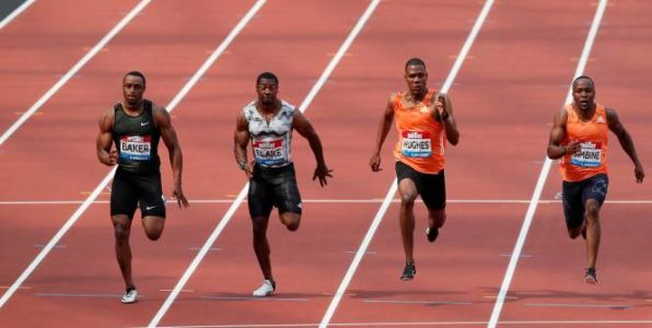 Athlé - LD - Londres - Meeting de Londres:  Ronnie Baker remporte le 100m