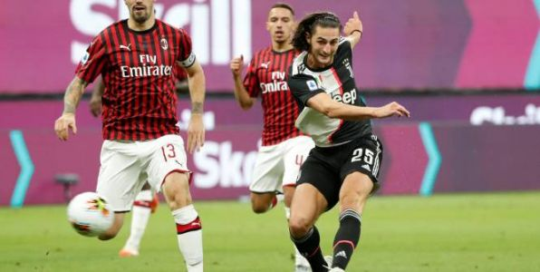 Foot - ITA - Juventus - Le but incroyable d'Adrien Rabiot contre l'AC Milan