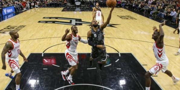 Basket - NBA - Les San Antonio Spurs enfoncent de pâles Houston Rockets