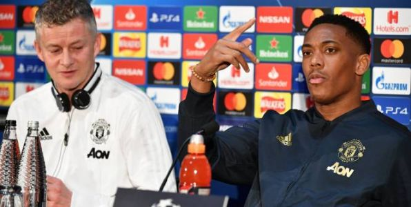 Foot - C1 - MU - Anthony Martial avant le PSG:  « Favori ? Non, non »