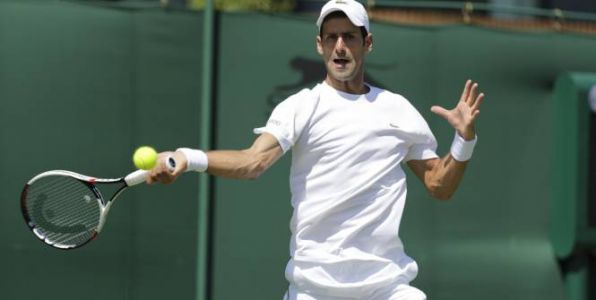 Tennis - Exhibition - Boodles Challenge :  Novak Djokovic s'incline contre Denis Shapovalov
