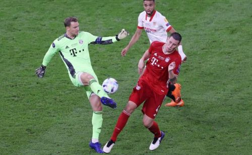 Supercoupe d'Europe:  les notes de Bayern Munich - FC Séville