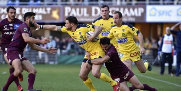 Rugby - Top 14 - Top 14:  Clermont loupe le bonus offensif face à Bordeaux-Bègles