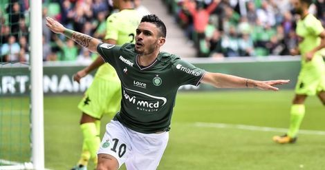 Ligue 1:  Saint-Étienne s'impose à Reims (0-2) et reprend la 4e place à l'OM