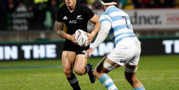 Rugby - Tri Nations - Rugby Championship:  Sonny Bill Williams incertain pour affronter les Pumas