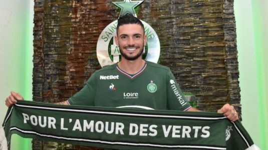 Officiel:  Rémy Cabella rejoint l'AS Saint-Étienne !