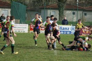 Plaisance. Rugby:  les cadets s'inclinent
