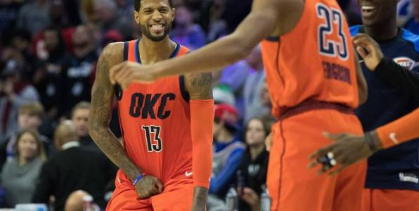 Basket - NBA - Paul George et Russell Westbrook font tomber Portland