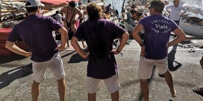 Ambiance festives aux voiles d'Antibes