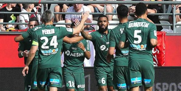 Foot - L1 - L1:  Saint-Etienne confirme son excellente forme en battant Reims