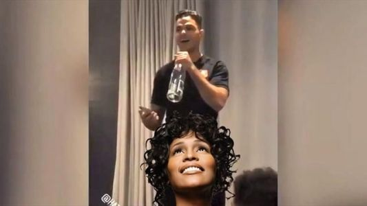 Avant les défenses de Ligue 1, Ben Arfa a massacré Whitney Houston:  son bizutage en vidéo