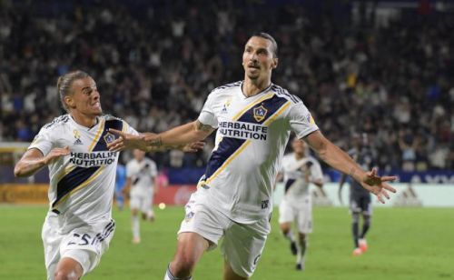 MLS:  Ibrahimovic et Alessandrini guident le Los Angeles Galaxy